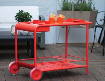 Luxembourg Bar Trolley by Frederic Sofia for Fermob image