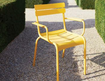 Luxembourg Armchair by Frederic Sofia for Fermob image
