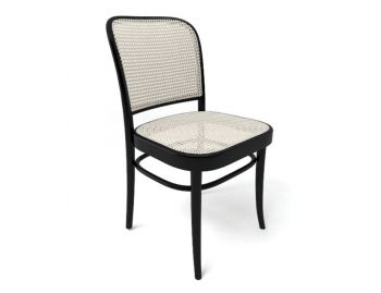 811 Bentwood Dining Chair in Black by Josef Hoffmann for TON image