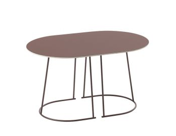 Airy Plum Coffee Table Small by Cecilie Manz for Muuto image