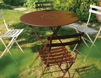 Floreal Folding Round Table 77cm by Fermob image