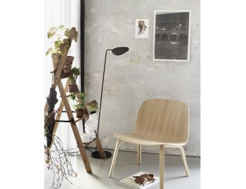 Leaf Floor Lamp Black by Broberg & Ridderstrale for Muuto image