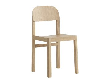 Workshop Chair Oak by Cecilie Manz for Muuto image