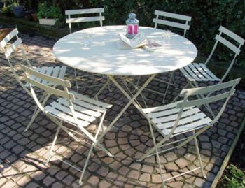Bistro Folding Round Table 117cm by Fermob image