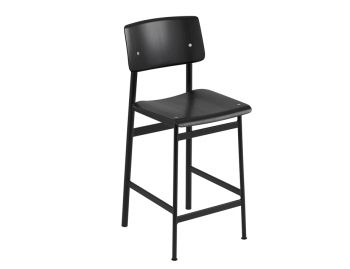 Loft Stool Black/Black by Thomas Bentzen for Muuto image