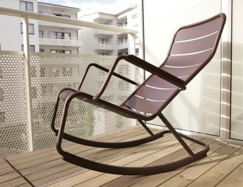 Luxembourg Rocking Chair by Frederic Sofia for Fermob image