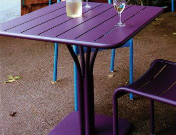 Luxembourg Square Pedestal Table by Frederic Sofia for Fermob image