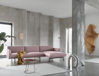 Outline Chaise Sofa by Anderssen & Voll Muuto image