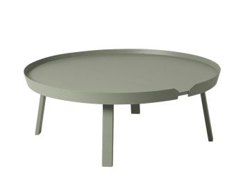 Dusty Green Around Coffee Table XL by Bentzen for Muuto image