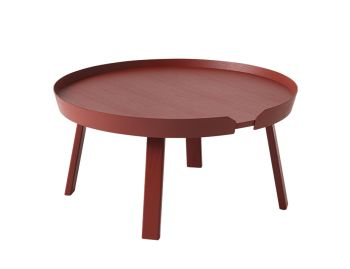 Dark Red Around Coffee Table Large by Thomas Bentzen for Muuto image