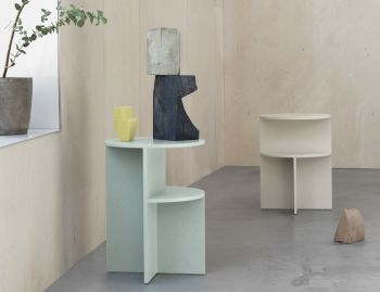 Halves Side Table by MSDS for Muuto image