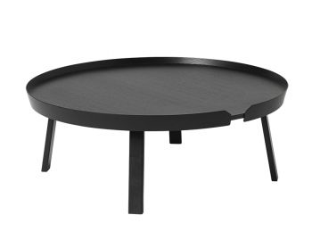 Black Around Coffee Table XL by Bentzen for Muuto image