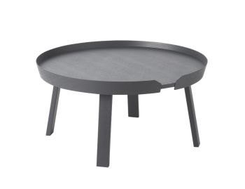 Anthracite Around Coffee Table Large by Bentzen for Muuto image