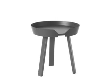 Anthracite Around Coffee Table Small by Thomas Bentzen for Muuto image