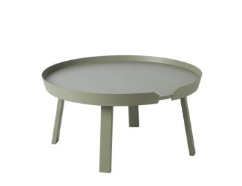 Dusty Green Around Coffee Table Large by Bentzen for Muuto image