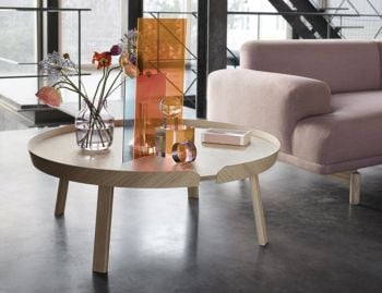 Oak Around Coffee Table XL by Bentzen for Muuto image