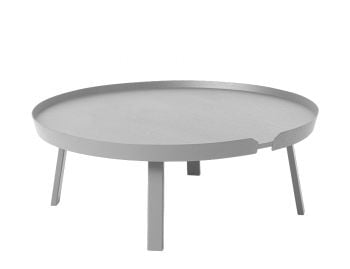 Grey Around Coffee Table XL by Bentzen for Muuto image