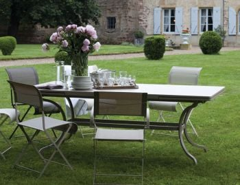 Romane Extendable Dining Table by Fermob image