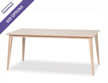 Natural Jutland A Grade Solid European Oak Dining Table by Mads Johansen for TON image