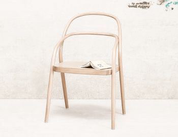 002 Natural Bentwood Chair by Jaroslav Jurica for TON  image