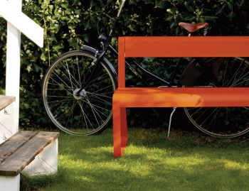 Bellevie Bench with Back by Pagnon & Pelhatre for Fermob image