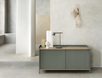 Enfold Low Sideboard by Thomas Bentzen for Muuto image