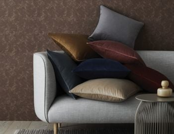 Zoe Velvet Cushion by Weave image