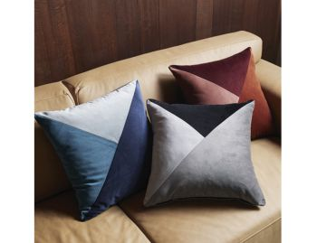 Paloma Velvet Cushion by Weave image