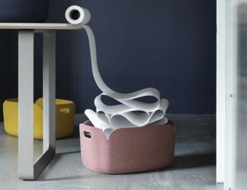 Rose Melange Restore Basket by Mika Tolvanen for Muuto image