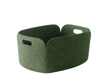 Green Restore Basket by Mika Tolvanen for Muuto image