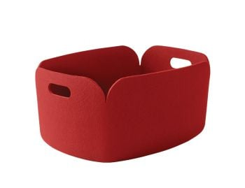 Red Restore Basket by Mika Tolvanen for Muuto image