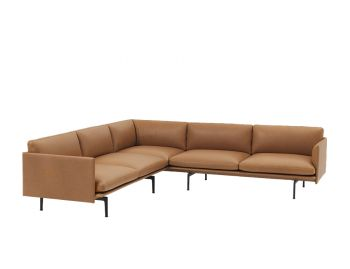 Outline Leather Corner Sofa by Anderssen & Voll Muuto image