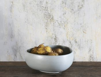 Stoneware Ash Grey Bowl 39 by Rebecca Uth for Ro image