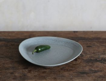 Stoneware Medium Plate 34 (2 pieces) by Rebecca Uth for Ro image