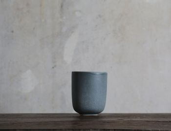 Stoneware Slate Grey Mug (2 pieces) by Rebecca Uth for Ro image