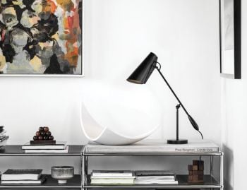 Birdy Table Lamp All Black by Birger Dahl for Northern  image