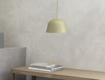 Green-Beige 25cm Ambit Pendant by TAF for Muuto image
