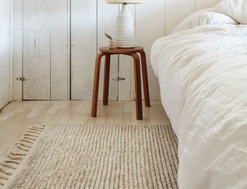 Malawi Oatmeal Berber Knot Rug by Armadillo  image