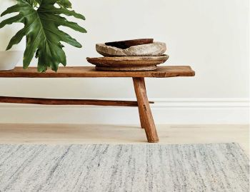 Pampas Quartz Wool Rug by Armadillo & Co image