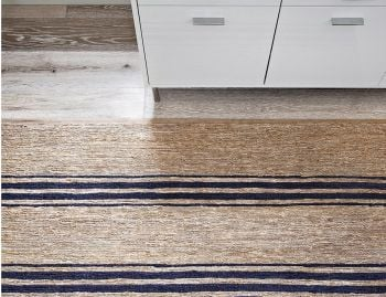River Ticking Stripe Rug by Armadillo  image