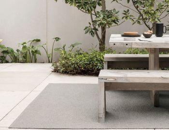 Horizon Mineral Indoor/Outdoor Rug by Armadillo Co image