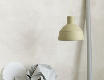 Unfold Pendant Green-Beige by Form Us With Love for Muuto image