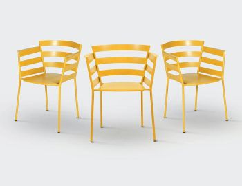 Rythmic Armchair by Archirivolto for Fermob image