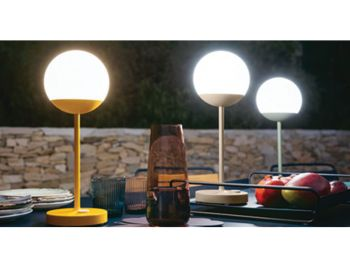 Mooon Table Lamp by Tristan Lohner for Fermob image