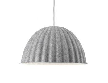 Under The Bell Grey 55cm Pendant by Iskos Berlin for Muuto image