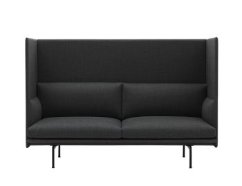 Outline Highback 2 Seat Sofa by Anderssen & Voll Muuto image