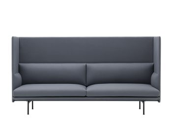 Outline Highback 3 Seat Sofa by Anderssen & Voll Muuto image