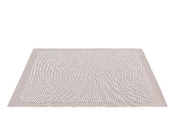 Pebble Rug Pale Rose by Margrethe Odgaard for Muuto image