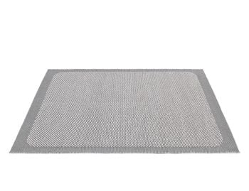 Pebble Rug Light Grey by Margrethe Odgaard for Muuto image