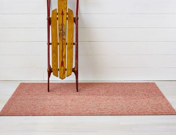 Shag Heathered Guava In/Outdoor Floor Mat by Chilewich image
